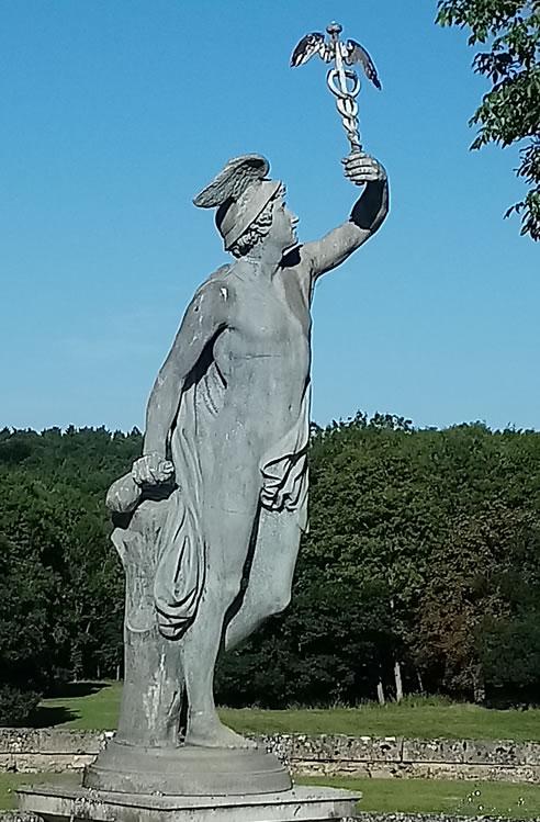 Hermes with the Healing Caduceus, Buscot Park, Farringdon